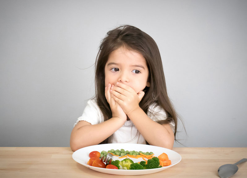 5 Tips for Dealing with a Fussy Eater