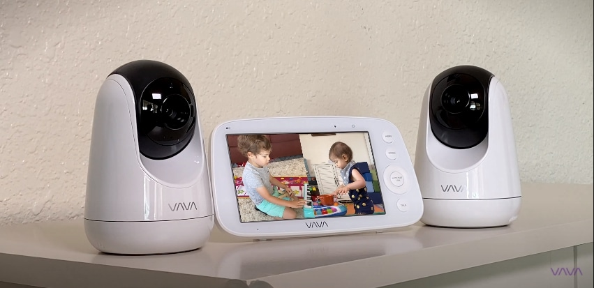Baby Video Monitor Two Cameras