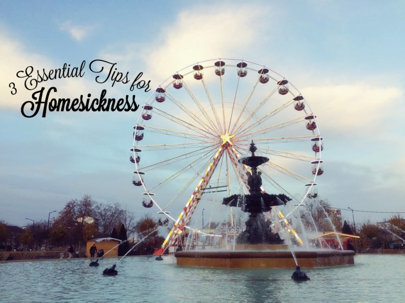 3 Essential Tips for Homesickness